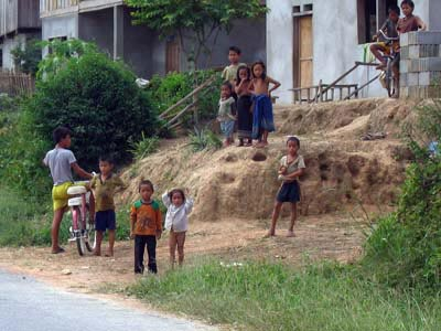 Village Kids Laos