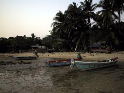 Boats Ko Samui