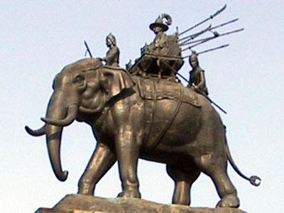 Elephant Statue Buriram